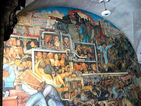 the history of mexico mural