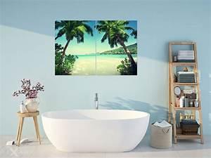 Wandbilder Für Badezimmer : sommerferien unten palmen poster und wandbilder f rs badezimmer bilder und poster ~ Markanthonyermac.com Haus und Dekorationen