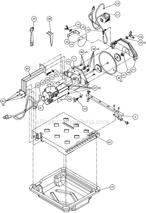 mk mk 170 parts list and diagram