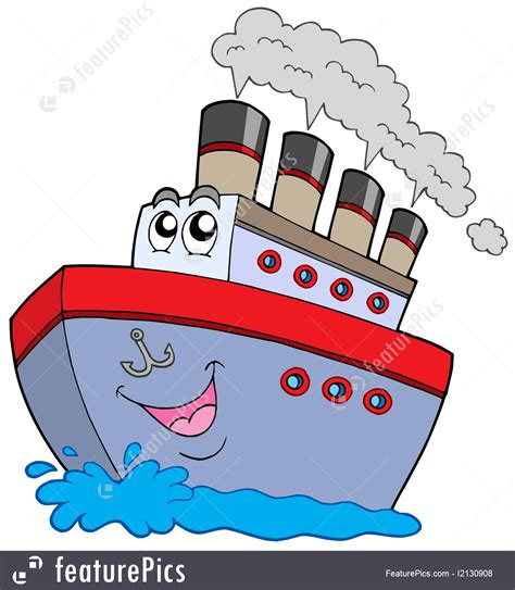 Cartoon Drawing Of A Boat by Watercraft Cartoon Boat Stock Illustration I2130908 At