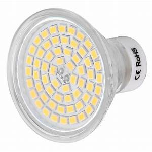 Led 5w Gu10 : gu10 5w led spotlight bulb warm white light 3000k 60 smd ac 220 240v free shipping dealextreme ~ Markanthonyermac.com Haus und Dekorationen