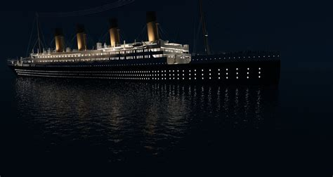 Titanic Sinking Animation 3d by Titanic Sinking Sequence By Gabrielauger On Deviantart