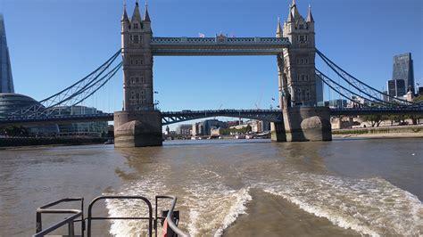 Boat Going Under Tower Bridge by Going Under Tower Bridge London