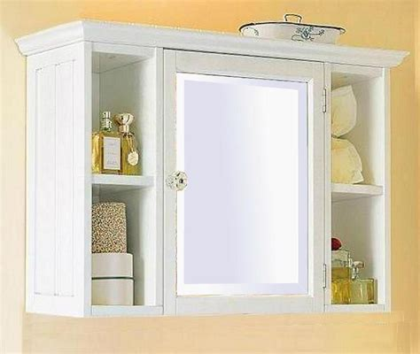 Furniture Attractive Bathroom Wall Cabinet Design Ideas