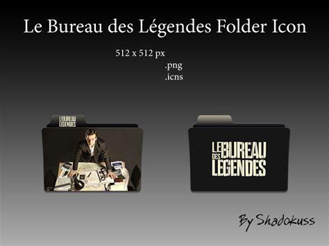 le bureau des legendes folder icon by shadokuss on deviantart