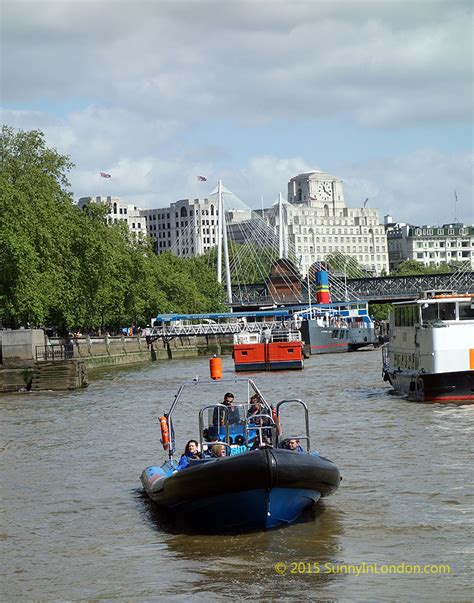 Boat Ride In London by City Cruises London Thamesjet With Gopro Speed Boat Tour