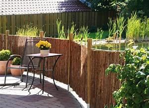 Gartengestaltung Mit Natursteinen : sichtschutz aus naturmaterialien sichtschutz ~ Markanthonyermac.com Haus und Dekorationen