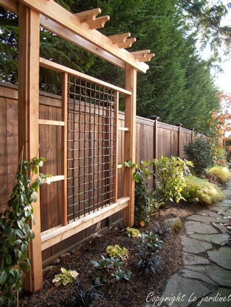21 Best Images About Backyard Screens Or Trellis On