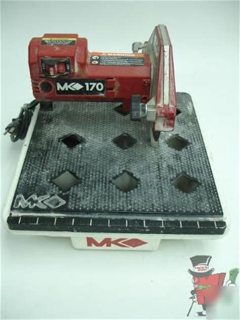 mk mk 170 7 inch tabletop tile saw