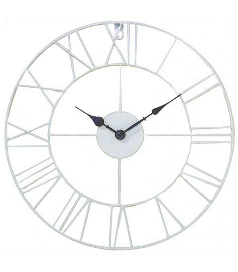 horloge murale 224 l ancienne en fer forg 233 blanc wadiga