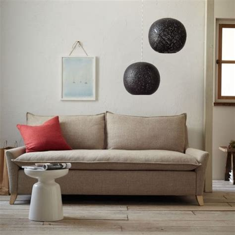bliss filled sofa west elm sofas by west elm