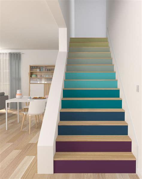 les 25 meilleures id 233 es de la cat 233 gorie contremarches sur peinture d escaliers