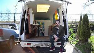 VAN LIFE :: Tour of a Unique Cargo Van Camper Conversion ...