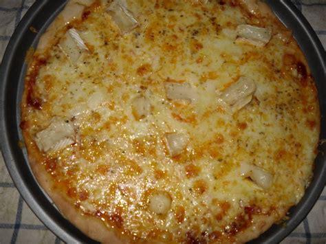 pizza aux 4 fromages recette