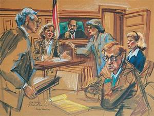 ELI5:Why are there art illustrations of federal court ...