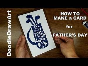 Cards: How to Make a Father's Day Card - Golf - YouTube