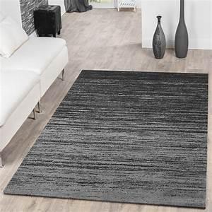 Türkische Teppiche Modern : teppich modern wohnzimmer teppich farbverlauf kurzflor grau anthrazit meliert moderne teppiche ~ Markanthonyermac.com Haus und Dekorationen