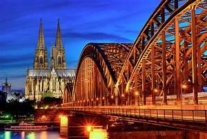 Köln Bilder Kaufen : k ln zur blauen stunde foto bild architektur motive bilder auf fotocommunity ~ Markanthonyermac.com Haus und Dekorationen