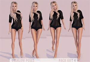 Second Life Marketplace - Overlow Poses - Pack Gift 4