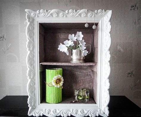 Cheap Diy Home Decor Idea-decorative Cardboard Wall Shelf