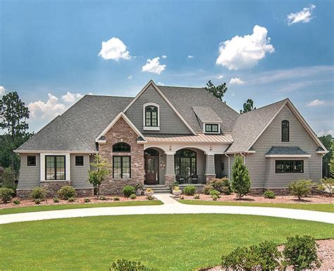 C&c Custom Home Designs : Beautiful French Country Estate Custom Home With 3,881