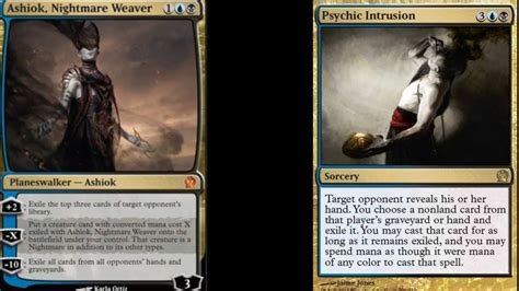 magic the gathering theros deck ideas