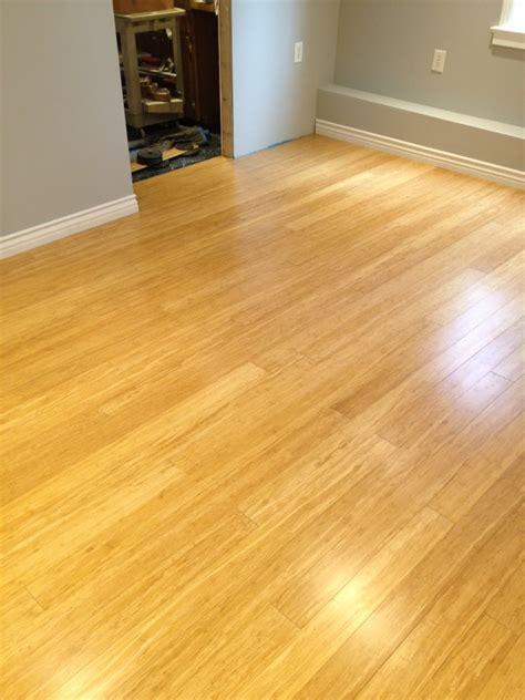 bamboo hardwood floors 11 x18 w cork underlayment
