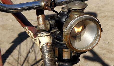 lucas quot king of the road quot acetylene carbide bicycle l