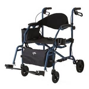 combination rollator transport chair pulsemedicalgear