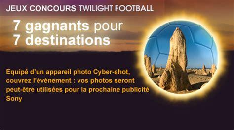 jeu concours twilight football par sony jeux concours mytf1