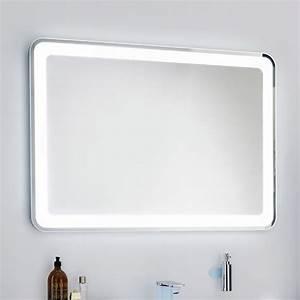 Spiegel Mit Integrierter Beleuchtung : lanzet spiegel 120 x 84 cm mit indirekter led beleuchtung 7209412 megabad ~ Markanthonyermac.com Haus und Dekorationen
