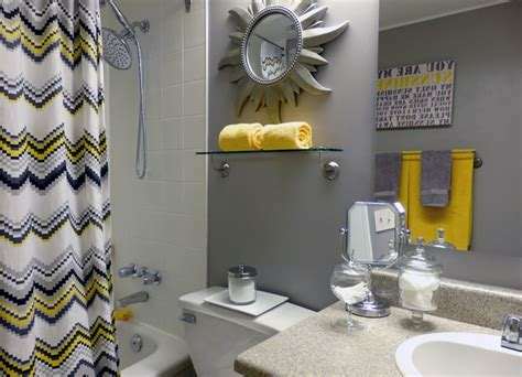 Yellow And Gray Bathroom, Gray And Yellow Bathroom Ideas