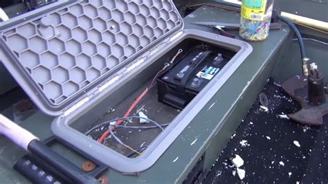 French Boat Hatches by How To Install Hatch Doors On Jon Boat Oow Outdoors Doovi