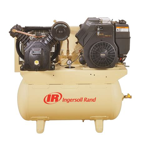ingersoll rand 30 gallon air compressor horizontal tank 13 hp gas powered tools air