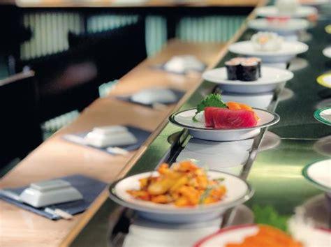 tr 232 s bonne qualit 233 de restaurant japonais quot 224 tapis roulant quot avis de voyageurs sur matsuri