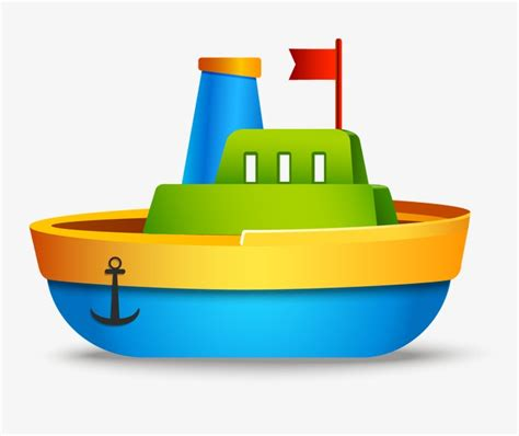 Easy Toy Boat by Toy Boat Cartoon Kids Toys Png And Vector For Free Download