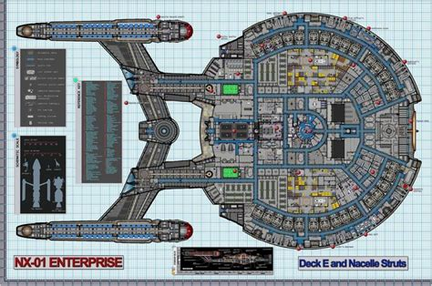 208 best images about trek u s s enterprise nx 01 on engineering models and