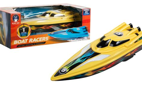 Blue Hat Toy Company Rc Boat Racer remote controlled boat racer groupon goods