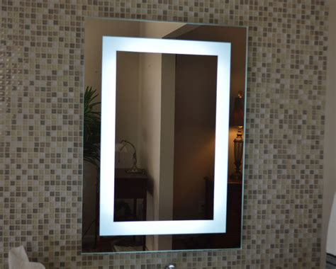 Lighted Bathroom Mirrors Wall by Lighted Bathroom Vanity Make Up Mirror Led Lighted Wall
