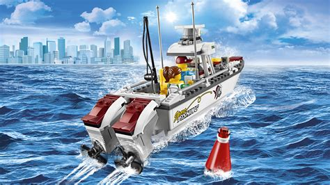 Lego Fire Boat Uk by Lego 60147 Quot Fishing Boat Quot Building Toy Lego Co Uk