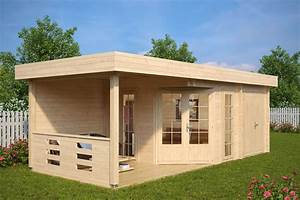 Fass Als Gartenhaus : gartenhaus mit ger teraum paula 12 5m 40mm 3x7 hansagarten24 ~ Markanthonyermac.com Haus und Dekorationen