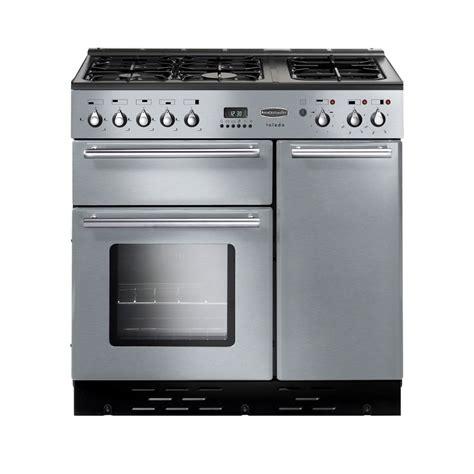 rangemaster toledo 90 dual fuel range cooker stainless steel
