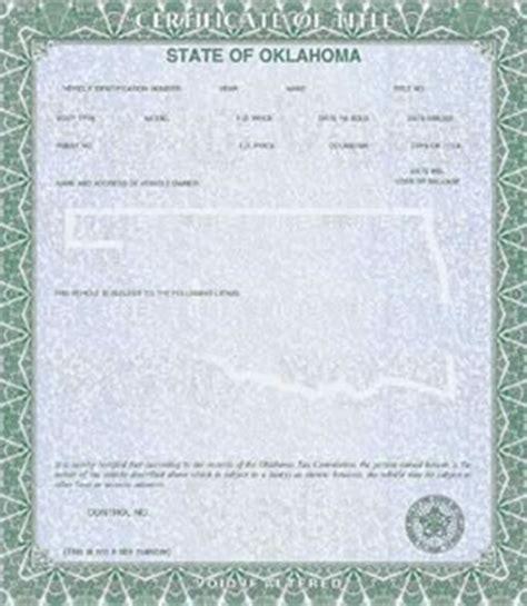 Texas Boat Registration Without Title by Oklahoma Motor Vehicle Registration Impremedia Net