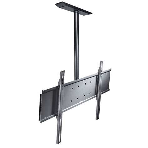 peerless universal ceiling mount with ext column and ceiling plate for 32 65 inch screens plcm
