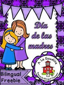 Cute Mother's Day poem, in Spanish, where kids can put ...