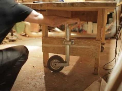 Schuur Inrichten Als Werkplaats by Timmertip 132 Werkbank Rollen Doe Het Zelf Werkplaats