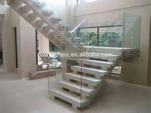 tremp 233 verre ou verre feuillet 233 pour escalier garde corps en verre prix barri 232 re balustrade