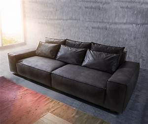 Big Sofa Vintage : big sofa sirpio 270x125 cm anthrazit vintage kedernaht m bel sofas big sofas ~ Markanthonyermac.com Haus und Dekorationen