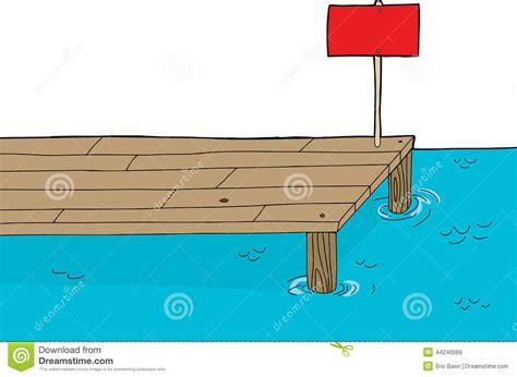 Cartoon Boat Dock by Docks Clipart Clipground