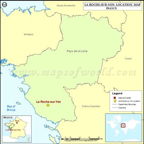 where is la roche sur yon located in